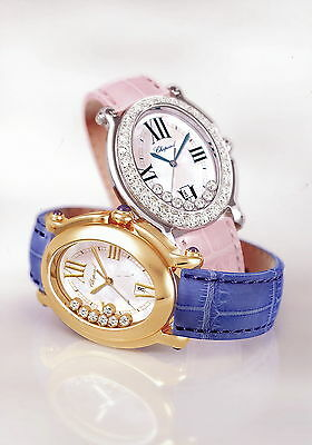 Chopard Pressefoto Happy Sport oval Ladies Watch Damen Uhr press photo GB F D I