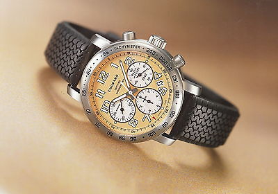Chopard Pressefoto Rally of Egypt Chronograph press photo GB F D I E Foto Uhr