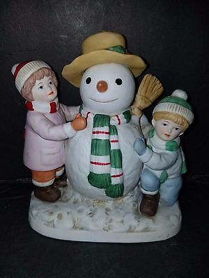 "Home Interiors Gifts. ""our First Snowman"" 5805-97"