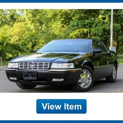 2001 Cadillac Eldorado ESC Coupe 2-Door 2001 Cadillac Eldorado ESC 57K mi Heated Seats Chrome Rims Serviced CARFAX!