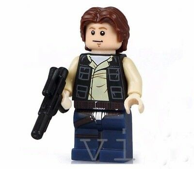 Han Solo Star Wars minifigure A New Hope cartoon movie TV Show
