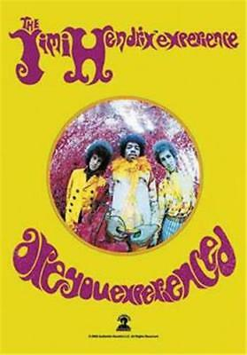 """JIMI HENDRIX Rock flag/ Tapestry/ Fabric Poster """"Are You Experienced""""   NEW"""
