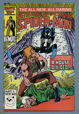 Spectacular Spider-Man #113 1986 Marvel Comics