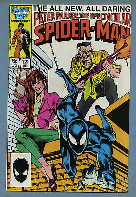 Spectacular Spider-Man #121 1986 Marvel Comics