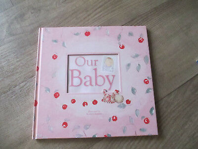OUR BABY - Baby Record / Keepsake Diary - Pink, Kathryn Zammit