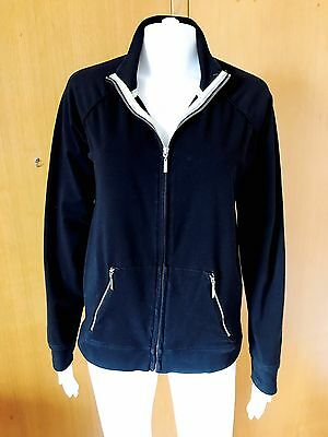 Mimi Maternity-Full Zip-Black Jacket-Size M
