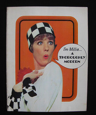 THOROUGHLY MODERN MILLIE 1967 movie programme Julie Andrews Mary Tyler Moore