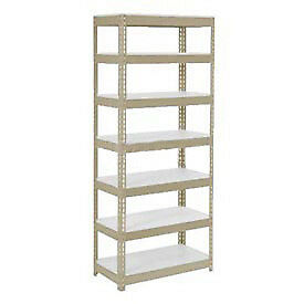 """Extra Heavy Duty Shelving 36""""W x 18""""D x 96""""H With 7 Shelves, 1500 lbs. Capacity"""