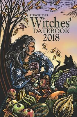 Llewellyn's 2018 Witches' Datebook Calendar – Day to Day by Susan Pesznecker NEW