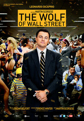 The Wolf Of Wall Street -  Locandina Originale POSTER 33X70