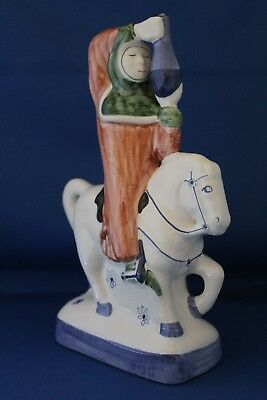 Fantastic Rye Pottery Canterbury Tales Figure The Doctor Of Physic