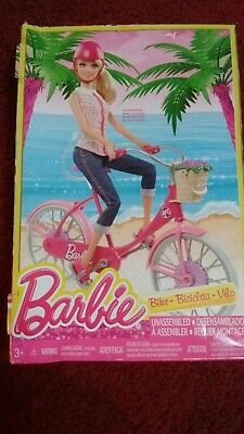 Barbie bike ( bike for Barbie ) NEW (DAMAGED BOX - no doll)