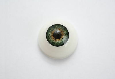 Reborn Delux  Eyes 1 x pair FOREST GREEN from Kiddies Korner select size