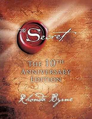The Secret 10th Anniversary Edition by Rhonda Byrne Hardcover Book 2006