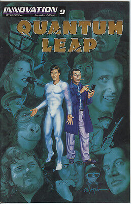 Quantum Leap Issue 9 From 1993 By Innovation Based On The Cult TV Series Scarce