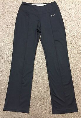 Ladies Size X-Small Nike Dri Fit Black Stretchy Athletic Yoga Pants!~Great Cond!
