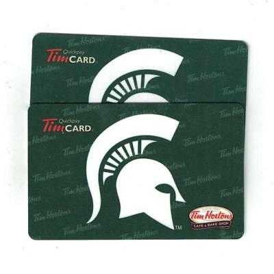 Tim Hortons Michigan State Spartans Gift Card