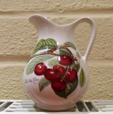 Portmeirion Jug - Pomona - Goddess Of Fruit - Late Duke Cherry - Brand New