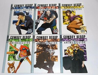 COWBOY BEBOP TOKYOPOP Anime Guide Complete Collection Set 1-6 Art Anime Manga