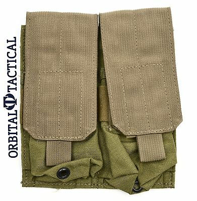 Eagle Industries Molle Double Mag Pouch Lightweight Khaki Sof