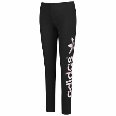 adidas Performance Logo Leggings Mädchen Hose Sport Girls Tight AB2114 neu