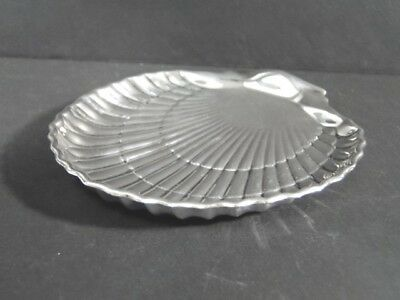 Vintage Gorham Sterling Silver Shell Shape Footed TRAY Dish 42677 No Monogram
