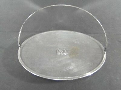 1922 Corinthian Yacht Club Marblehead MA Silverplate Racing Dories Handled PLATE