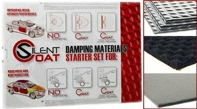 Silent Coat Starter Set of Car Sound Deadening / Proofing