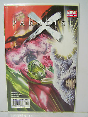 Marvel Paradise X  number 6  Resealable Comic Bag and Board