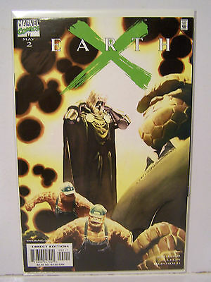 Marvel Earth X number 2 Resealable Comic Bag and Boarded