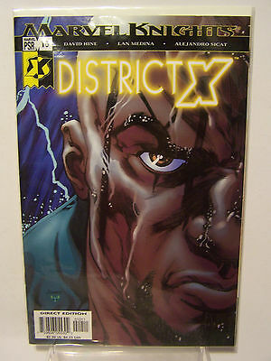Marvel District  X number 10 Resealable Comic Bag and Board