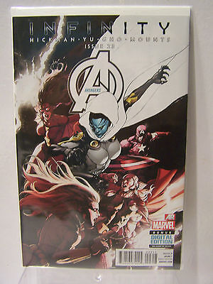 Marvel Comics Now Avengers number 23 Resealable Comic Bag and Board