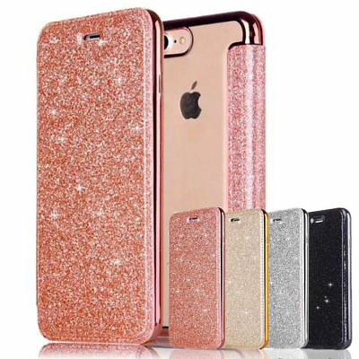 For iPhone 6s 8 plus Luxury Slim book Leather +TPU wallet Flip Cover skin Case