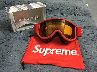 Free Shipping Supreme Ski Goggle Goggles Red Mask for Skiing Winter Sport