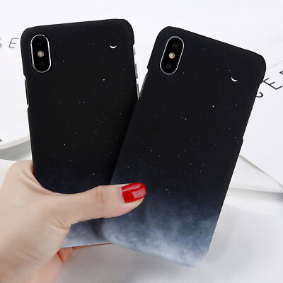 For iPhone XR XS MAX 8 6 7 Plus Shockproof Sky Cute Pattern Hard Back Case Cover