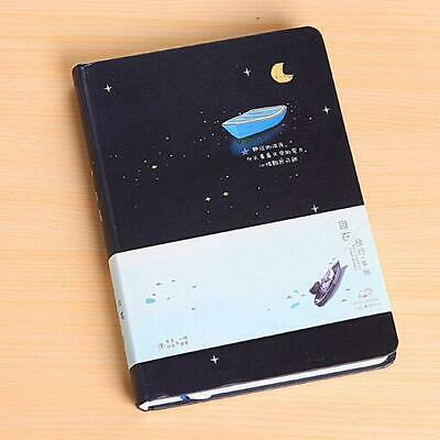Korean Fresh Style Hardcover Color Page Notebook Drawing Diary Blank Journal