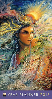 Celestial Journey Josephine Wall 2018 Year Monthly Pocket Planner/Diary FT