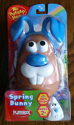 Hasbro Playskool Mr Potato Head SPRING BUNNY Blue Rabbit New and Sealed