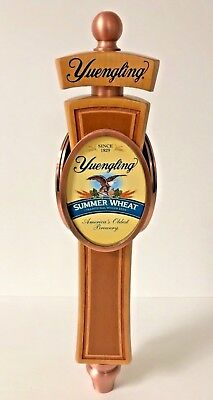"""Yuengling Brewery SUMMER WHEAT Tap Handle 3-Sided + Extra Labels - NEW & F/S 12"""""""
