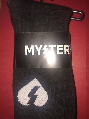 Mystery Skateboarding Socks - Black