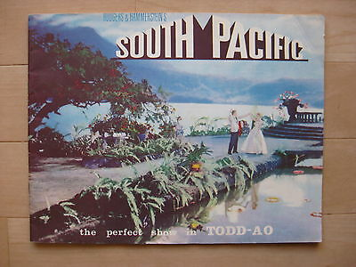 SOUTH PACIFIC 1958 Orig movie programme Mitzi Gaynor Rodgers Hammerstein musical