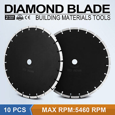 10Pcs 14 12mm Segmented Diamond Saw Blade Roof Tile Concrete Clay Pavers Newest