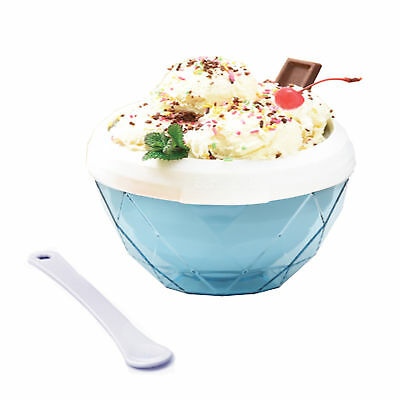 Slush and Shake Ice Cream Maker Bowl Blue For Fun