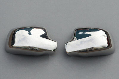 Type B Chrome Wing Mirror Trim Set Covers To Fit Dacia Duster (2010+)