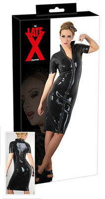 Late XL Latex Kleid Zip M Damenmode