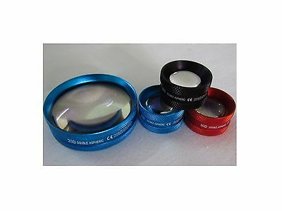 3pc set 78D+90D+20D ASPHERIC LENS OPHTHALMOLOGY OPTOMETRY Free DHL