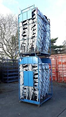 Large Foldable and Stacking Stillages on Wheels Large Quantity avaialble