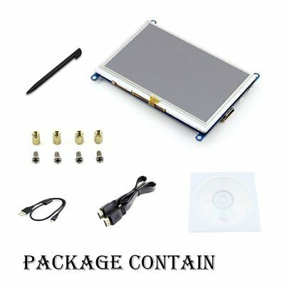 5 inch LCD B Rev2.1 Touch Resistive Screen HDMI interface 800*480 Supports For