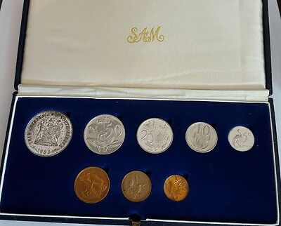 1983 South Africa 8 Piece Proof Set