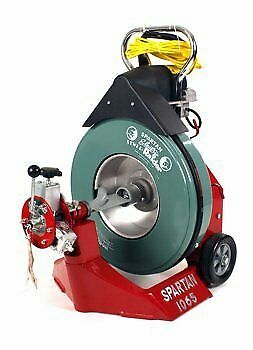 """Spartan Tool 1065 Drum Drain Cleaning Machine for 3"""" to 10"""" Drain Lines 44115804"""